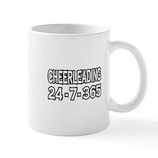 """Cheerleading 24-7-365"" Mug"