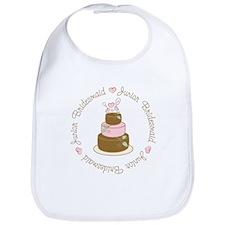 Sweet Jr. Bridesmaid Cake Bib