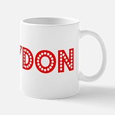 Retro Braydon (Red) Mug