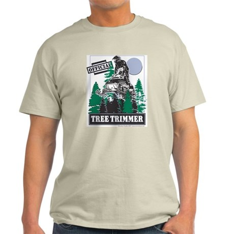 Official Snowmobiler Tree Tri Light T-Shirt