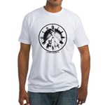 Peace Clock Fitted Tee