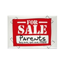 Parents For Sale Rectangle Magnet
