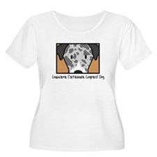 Anime Catahoula Leopard Women's Plus Size TShirt
