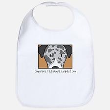 Anime Catahoula Leopard Dog Bib