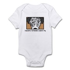 Anime Catahoula Leopard Dog Infant Bodysuit