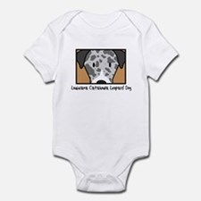 Anime Catahoula Leopard Dog Infant Bodysuit