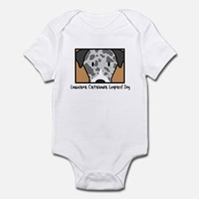 Anime Catahoula Leopard Dog Onesie
