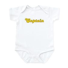 Retro Captain (Gold) Infant Bodysuit