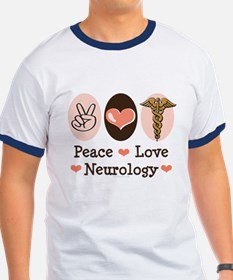 Peace Love Neurology T