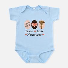 Peace Love Neurology Infant Bodysuit