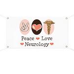 Peace Love Neurology Banner