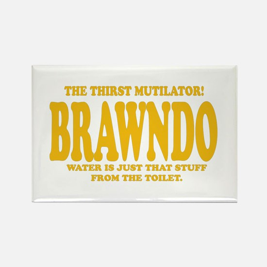 Brawndo Rectangle Magnet