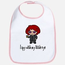 I Spy With My Eye (Girl) Bib