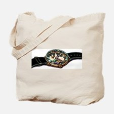 Holding Hands of Clock Tote Bag