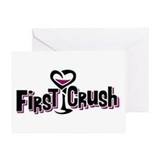 First Crush Greeting Card