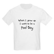When I grow up I want to be a Pool Boy Kids Light