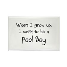 When I grow up I want to be a Pool Boy Rectangle M