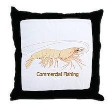 Shrimp Throw Pillow