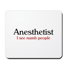Nurse Anesthetist Mousepad