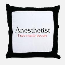 Nurse Anesthetist Throw Pillow