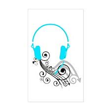 Headphones Decal