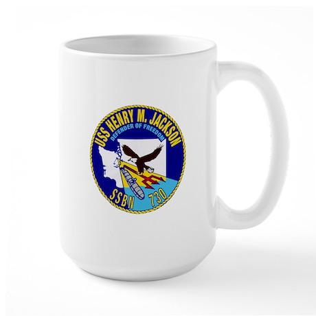 USS Henry M Jackson SSBN-730 Large Mug