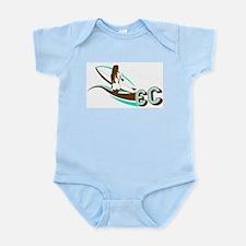 Surf Girl Infant Creeper