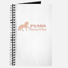 Paso Fino Horse Journal