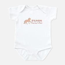 Paso Fino Horse Infant Bodysuit