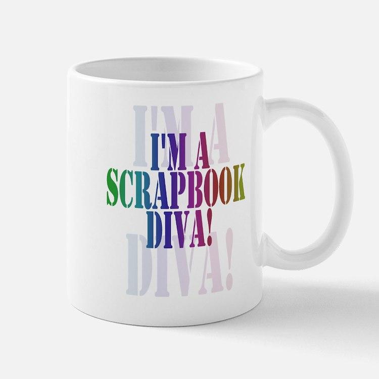 Scrapbook Diva Mug