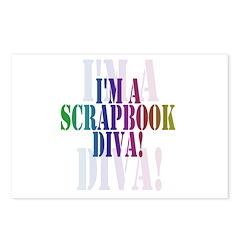 Scrapbook Diva Postcards (Package of 8)