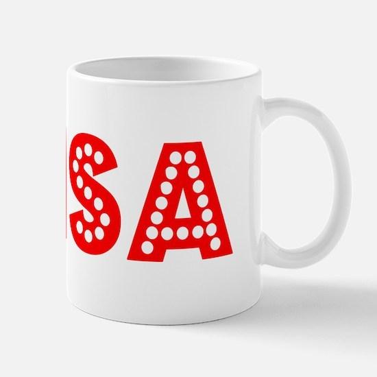 Retro Brisa (Red) Mug