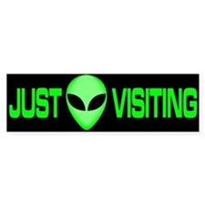 New ALIEN Themed Bumper Stick Bumper Bumper Sticker