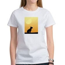 Retro Sun Bull Terrier Tee