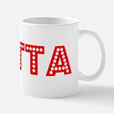 Retro Britta (Red) Mug