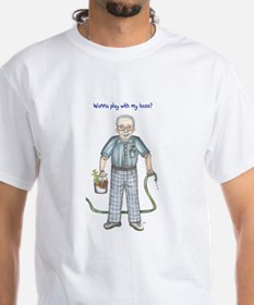 Wanna play with my hose? Dirty old man Shirt