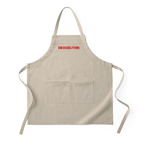 Retro Brooklynn (Red) BBQ Apron