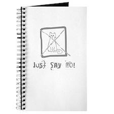 No Cats Allowed Journal