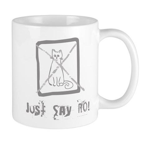 No Cats Allowed Mug