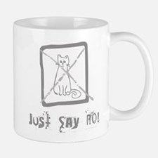No Cats Allowed Mug