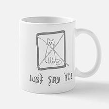 No Cats Allowed Small Small Mug