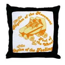 The Rhythm of the Movement Throw Pillow