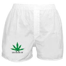 Legalize Marijuana Boxer Shorts