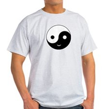 Yin Yang Smile T-Shirt