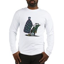 Homey Xmas Tree Long Sleeve T-Shirt
