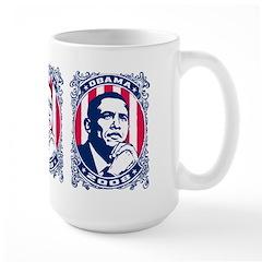 Barack OBAMA 2008 - Large Mug