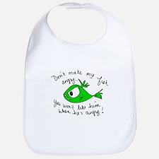 Angry Fish Bib