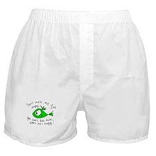 Angry Fish Boxer Shorts