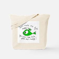 Angry Fish Tote Bag