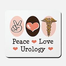 Peace Love Urology Mousepad